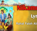 Nikamma Lyrics – 3 Dev